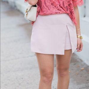 Never worn! Cute Express pink skort (plus size)